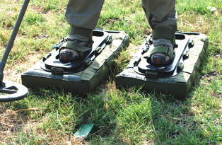 Minefield Crossing Sandals